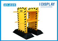 2 Tier Festival Cardboard Advertising Displays / Promotional Display Stands