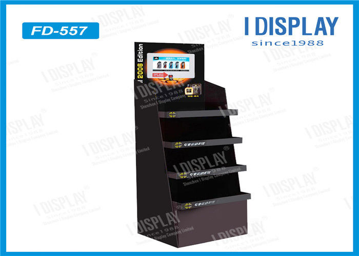 Candy Retail Cardboard Pallet Display Double Wall For Supermarket Promotion