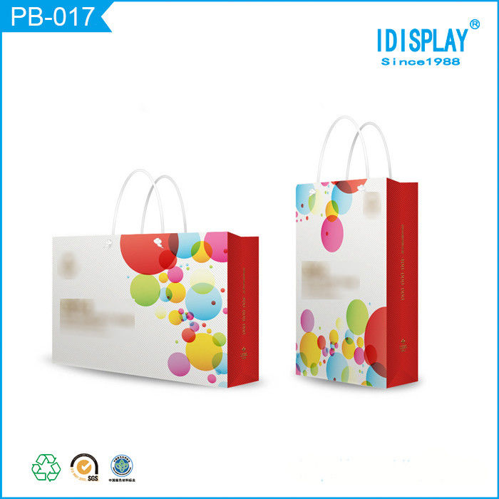 Recyclable Popular Style Recycled Paper Bags Printed Custom Logo Design